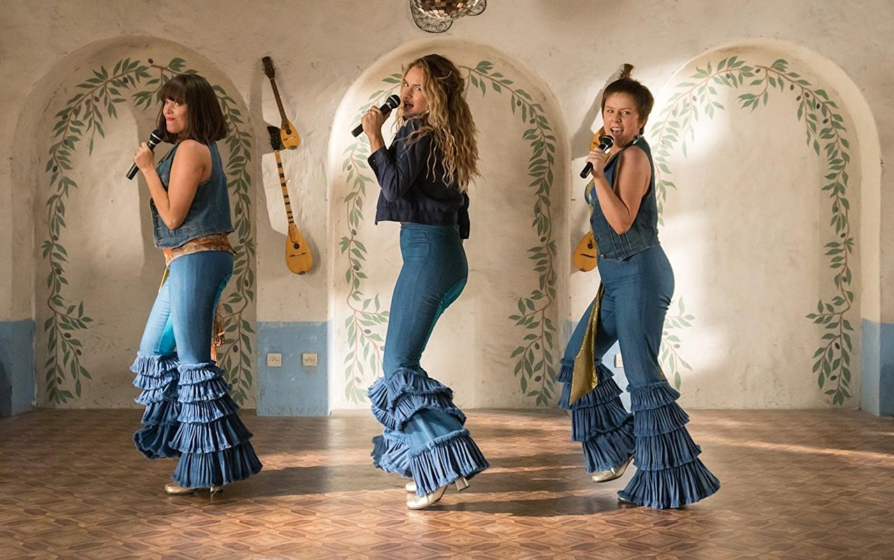 """<p>Come for the wall-to-wall ABBA that blankets this sequel-prequel hybrid; stay to solve the mystery of whether <a rel=""""nofollow"""" href=""""https://www.yahoo.com/entertainment/mamma-mia-again-trailer-wait-170000817.html"""">Meryl Streep's character is alive or dead</a>. And don't worry: If Streep is pushing up the daisies and you're in need a shoulder to cry on, Cher's got you, babe. 