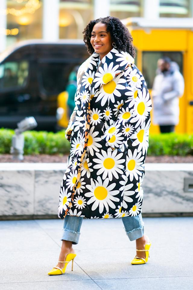 <p>How can this daisy puffer from the Moncler 0 Richard Quinn collection not bring a smile to your face?</p>