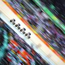 <p>The Great Britain team of Katie Archibald, Laura Trott, Elinor Barker and Joanna Rowsell-Shand winning the gold medal during the Women's Team Pursuit Final during the track cycling competition at the Rio Olympic Velodrome August 12, 2016 in Rio de Janeiro, Brazil. (Photo by Tim Clayton/Corbis via Getty Images) </p>