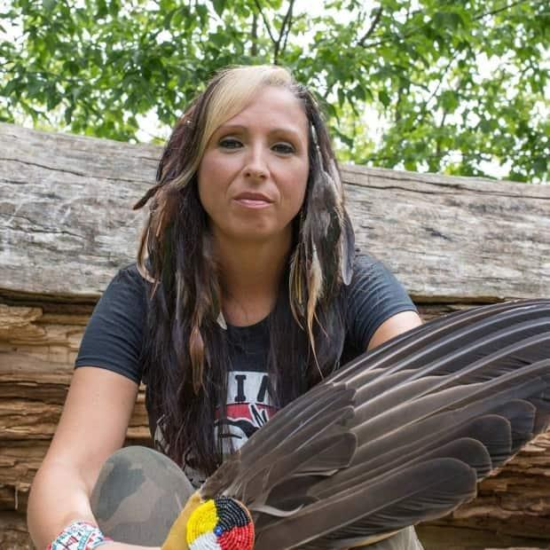 Pam Palmater, originally from Eel River Bar First Nation, says the use of the word 'evergreen' in relation to the MMIWG national action plan signifies the lack of a plan.  (Lisa MacIntosh - image credit)