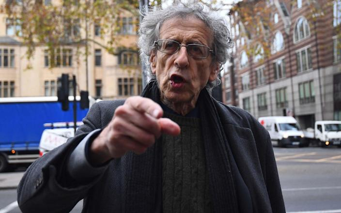 Piers Corbyn, brother of former Labour leader Jeremy Corbyn, arriving at Westminster Magistrates' Court - Victoria Jones/PA