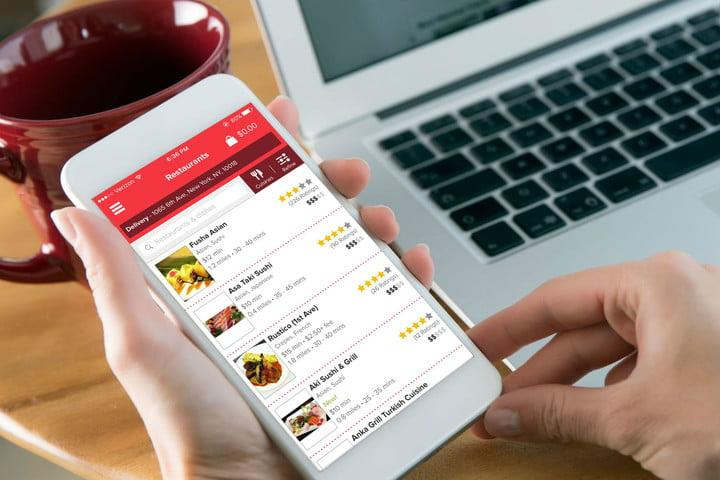 how to safely order food delivery grubhub