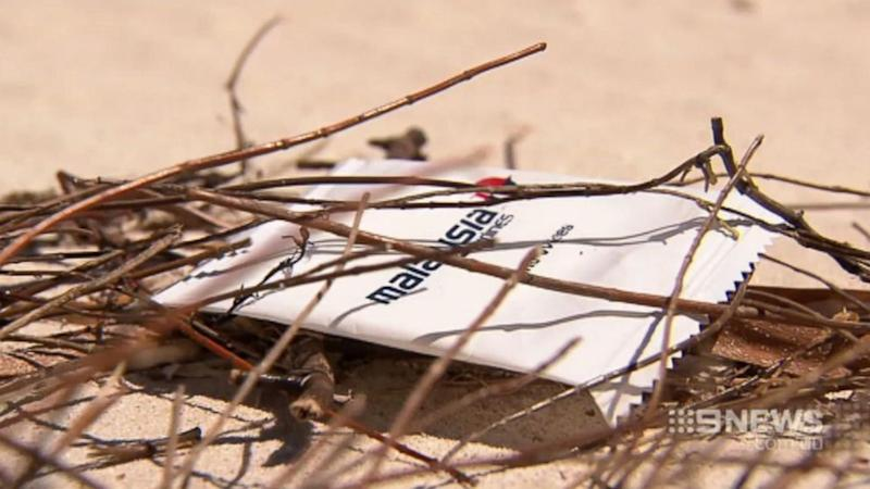 Malaysia Airlines Towelette Found On Western Australia Beach