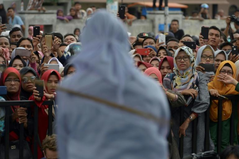 Rights groups have derided it as cruel and last year President Joko Widodo called for an end to public whippings in Aceh