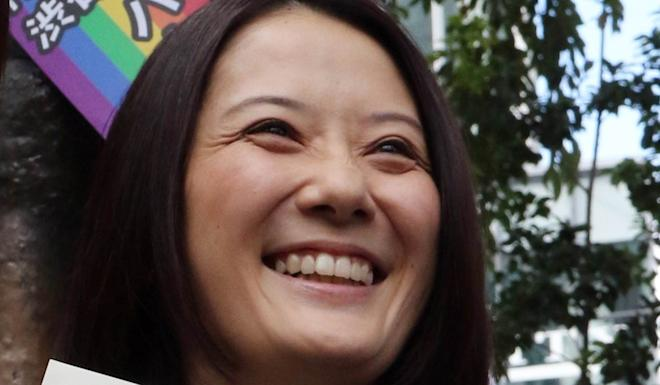 Hiroko Masuhara wants to build a society where anyone can live in their own way. Photo: AFP