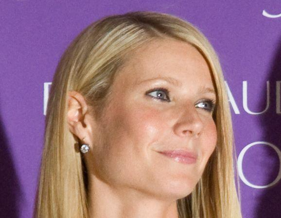 Gwyneth Paltrow looks amazing in this close-range photo with a beautiful smile on her face
