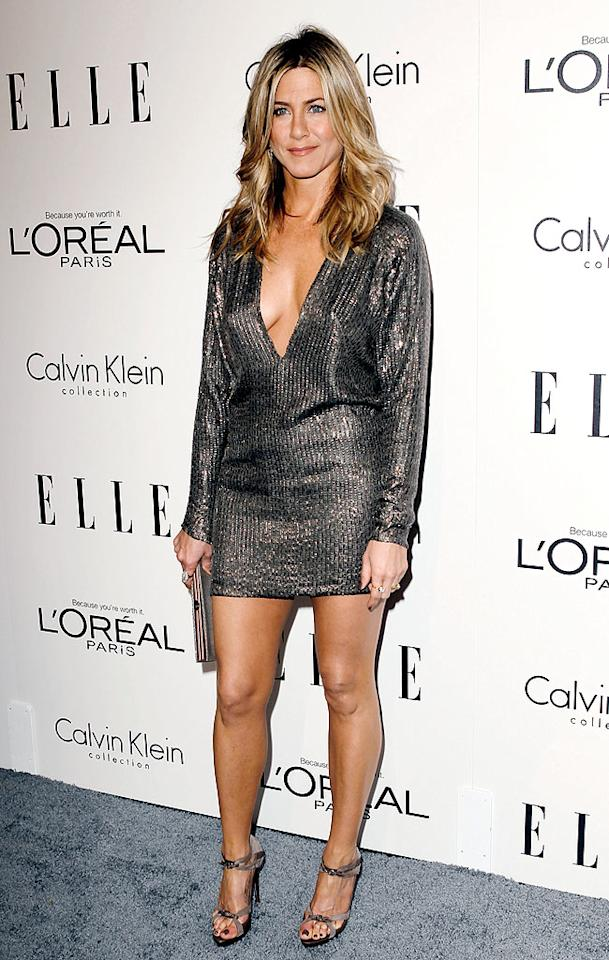 """A conversation about celebrity tastemakers wouldn't be complete without a mention of Jennifer Aniston. Whether it's her famed former """"Friends"""" hairstyle, the Rachel, or the yoga workout that helps her keep her fit physique, women have been taking style cues from Jen for more than a decade."""