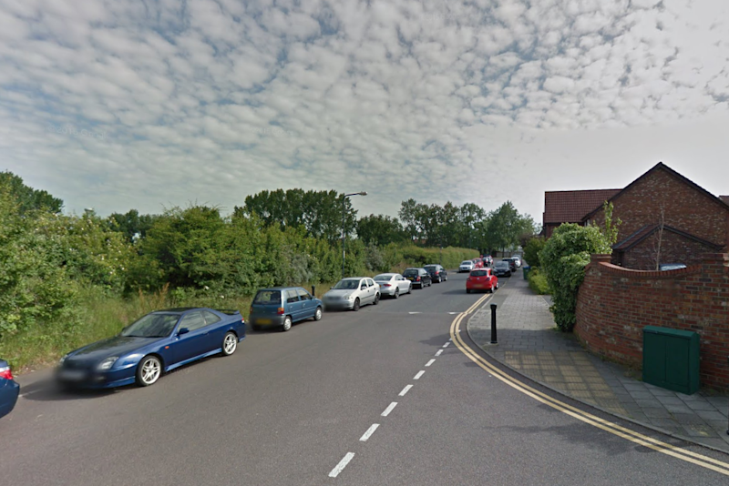 The victim was sitting in a car in Nelson Mandela Way, Kidbrooke: Google