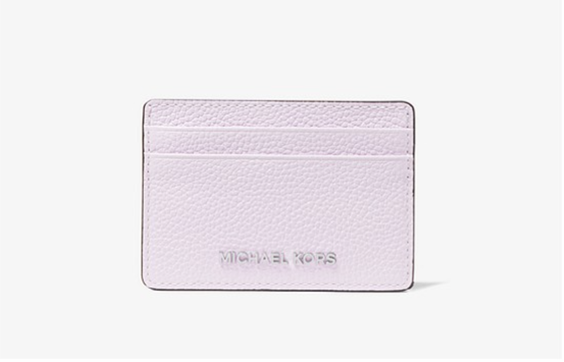 Pebbled Leather Card Case. (PHOTO: Michael Kors)
