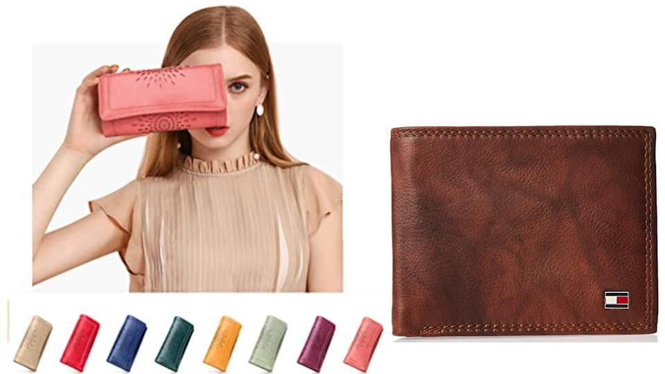 Protecting your information is the key feature of these wallets. (Image via Amazon)
