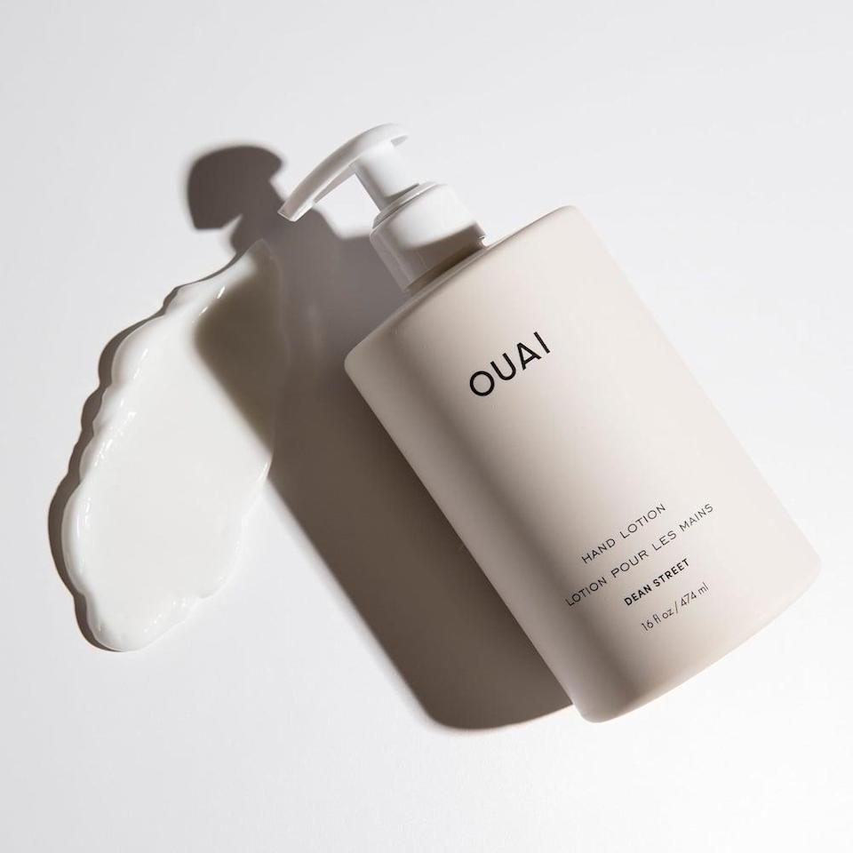 <p>Keep this large <span>Ouai Hand Lotion</span> ($32) by the sink, so after you wash and dry your hands, you can moisturize them.</p>