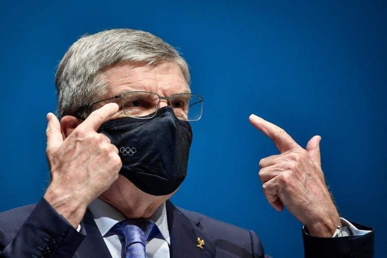 International Olympic Committee president Thomas Bach urged Japanese fans to get behind the Games