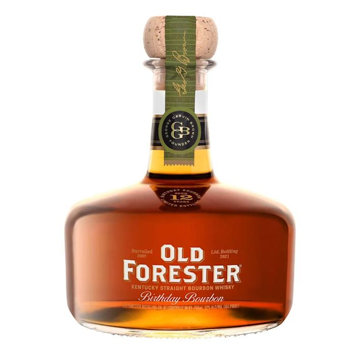 This year's Old Forester Birthday Bourbon is the 21st edition. And there's a bit more of it this year than last year, 119 barrels rather than just 95 barrels. So you stand a better shot at finding this sought-after annual release.