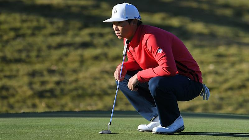 Spaun rises to top of Shriners leaderboard