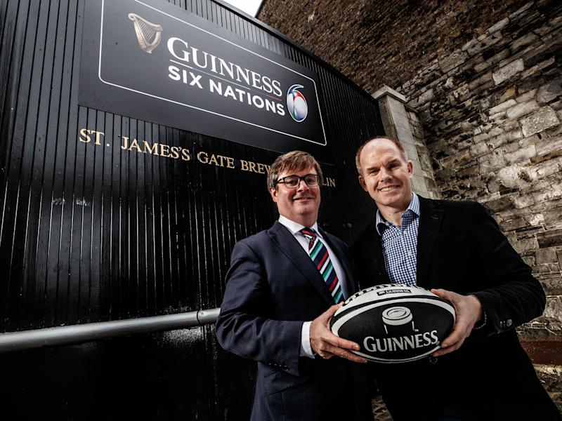 Guinness will sponsor the Six Nations after signing a six-year deal