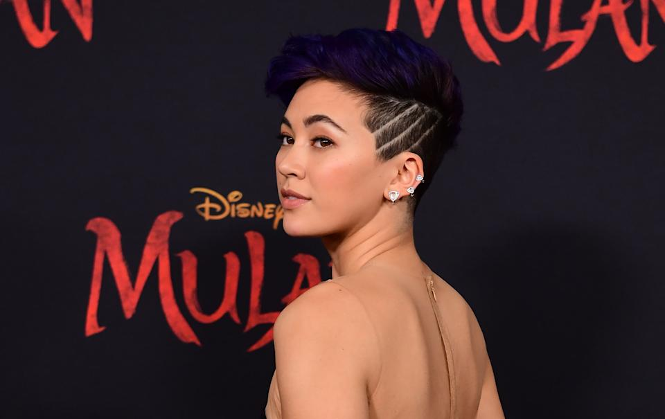 "British actress Jessica Henwick attends the world premiere of Disney's ""Mulan"" at the Dolby Theatre in Hollywood on March 9, 2020. (Photo by Frederic J. BROWN / AFP) (Photo by FREDERIC J. BROWN/AFP via Getty Images)"