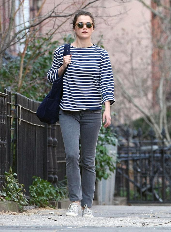 """Just two weeks after the birth of daughter Willa Lou in December,  Russell – who is also mom to son River, 4, stepped out in New York City  looking as thin as ever! Her secret? """"Breastfeeding!"""" she has said.  """"It's miraculous! I mean, within two weeks, you're like, 'Whoa, where is  everything?"""" (3/8/2012)"""