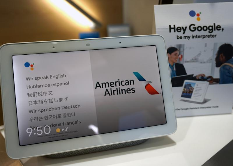 American Airlines and Google Assistant