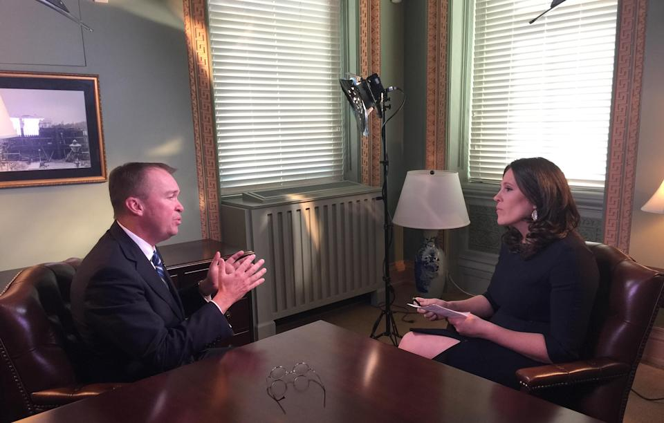 OMB Director talks to Yahoo Finance's Nicole Sinclair about the tax plan.