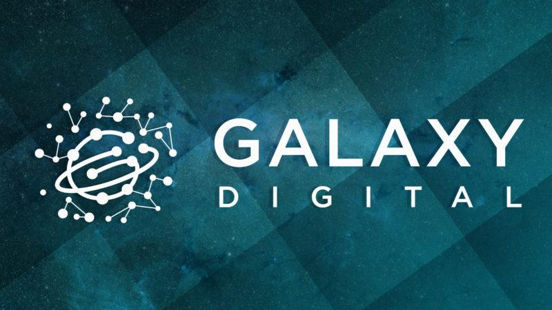 """Galaxy Digital is advising on a """"really large"""" real estate deal"""