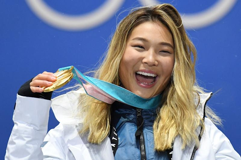 US 2018 Olympic snowboarding gold medalist Chloe Kim now has a Barbie doll that looks like her (AFP Photo/Kirill KUDRYAVTSEV)
