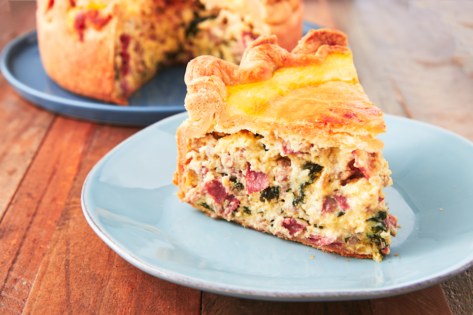 "<p>Whether you're looking for something sweet or savory, these Easter pie recipes will be crowd favorites come Sunday. If you're still planning for the day, check out our favorite Easter <a href=""https://www.delish.com/holiday-recipes/easter/g1399/brunch-casseroles-recipes/"" rel=""nofollow noopener"" target=""_blank"" data-ylk=""slk:brunch recipes"" class=""link rapid-noclick-resp"">brunch recipes</a> and <a href=""https://www.delish.com/holiday-recipes/easter/g3920/easter-ham-recipes/"" rel=""nofollow noopener"" target=""_blank"" data-ylk=""slk:ham ideas"" class=""link rapid-noclick-resp"">ham ideas</a>.</p>"