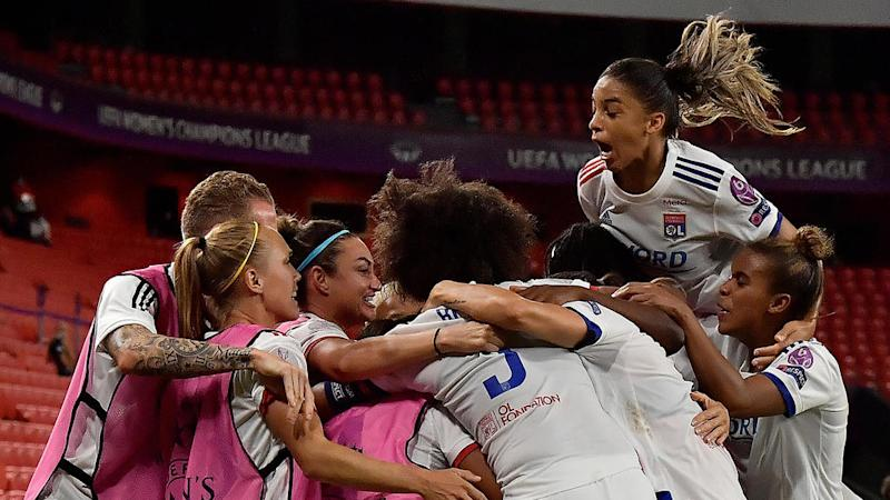 Lyon reaches 5th straight women's Champions League final after beating PSG