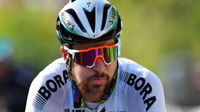 Double defending champion Peter Sagan made it three in a row at the World Championships with victory in Bergen.