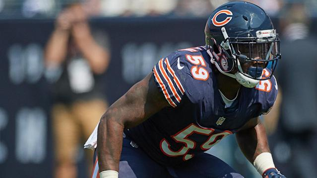 Chicago Bears linebacker Danny Trevathan has been suspended for two weeks after his illegal hit landed Green Bay Packers receiver Davante Adams in the hospital on Thursday.