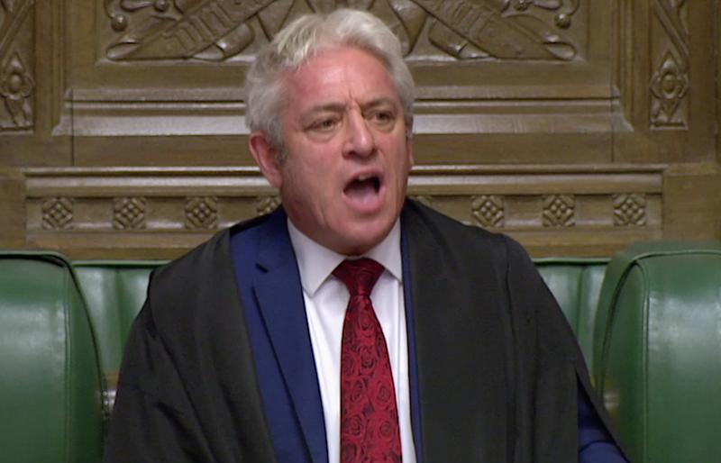 Commons speaker John Bercow will decide if MPs get to vote on the prime minister's Brexit deal (Picture: Reuters)