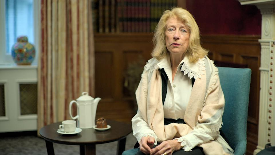 Danae Brook a young journalist, found herself living in same block of flats as Lady Diana Spencer during her courtship with Prince Charles in the late 70s. (ITV)