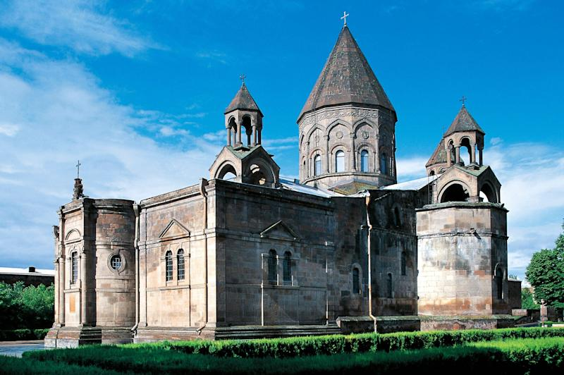 The Mother Cathedral of Holy Etchmiadzin in Armenia.  (Photo: DEA / W. BUSS via Getty Images)