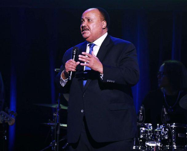 PHOTO: Martin Luther King III speaks onstage, Feb. 28, 2020, in New York City. (Jason Mendez/Getty Images, FILE)