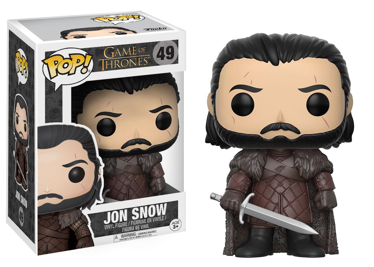 <p>Jon Snow (played by Kit Harington) will be available this July.<br /> (Credit: Funko) </p>