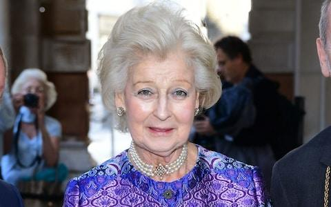 Princess Alexandra arriving at the new Royal Academy of Arts Opening Party in London - Credit: Ian West/PA