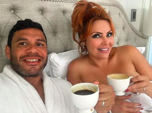 He was previously 'married' to Sarah Roza after meeting on reality dating show Married At First Sight. Photo: Instagram/sarahjaneroza