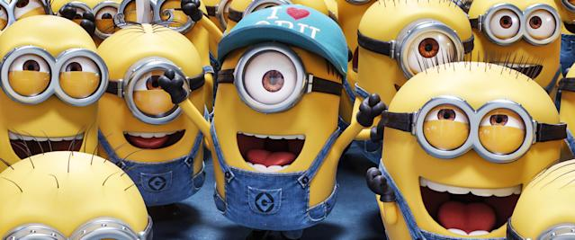 "The Minions in ""Despicable Me 3."" (Photo: Illumination/ Everett Collection)"