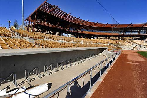 Camelback Ranch, the spring training home of the Dodgers and Chicago White Sox, could be used to host baseball games this season.