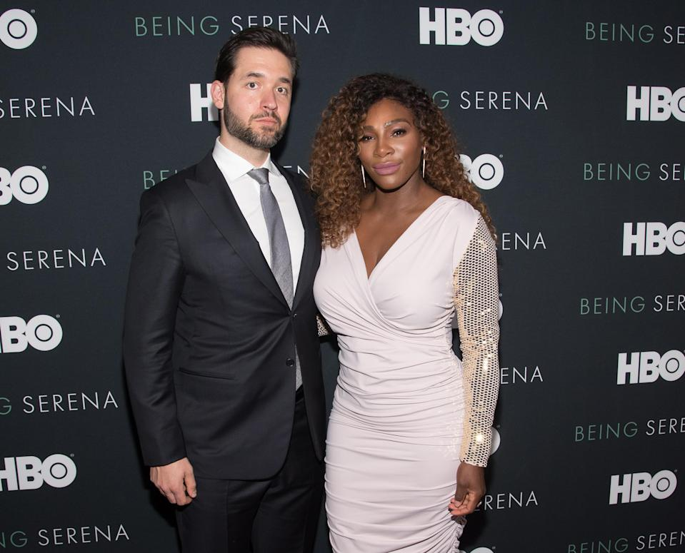 Serena Williams and husband Alexis Ohanian welcomed daughter Olympia in September. (Photo: Mike Pont/WireImage)