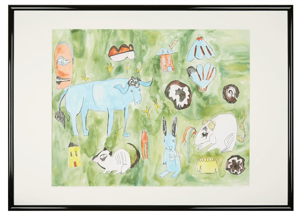 This playful print will brighten up even the most boring wall.<br><br><strong>Sh</strong>r<strong>imps for Habitat</strong> Wilder framed 50x70cm print with mount, £85