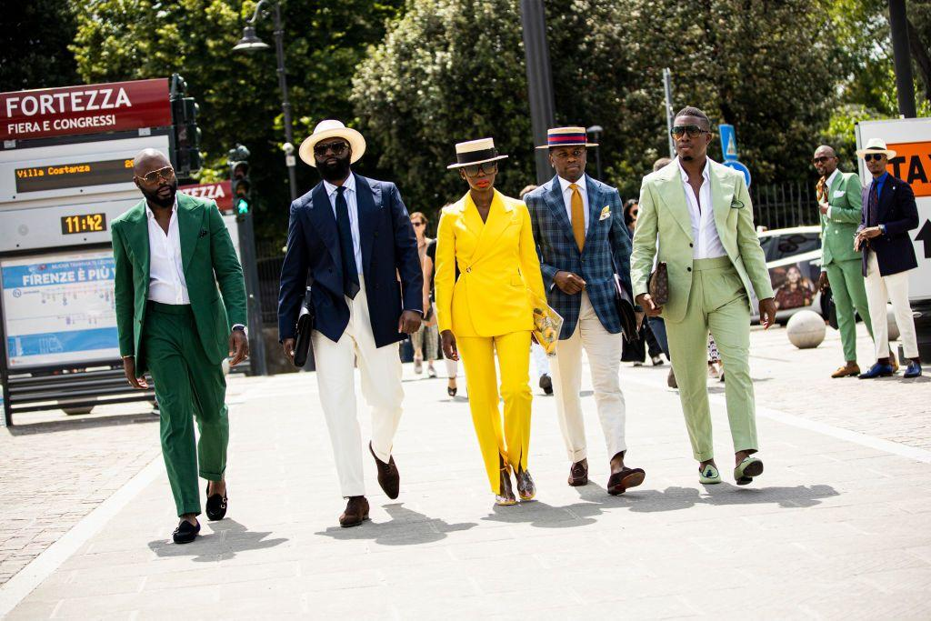 <p>Pitti Uomo, the menswear trade show in Florence, Italy, kicked off earlier this week bringing hoards of handsome, well-dressed men (and women!) to Fortezza da Basso. Click through for our favorite looks, plus daily updates from what some say is the best street style season of all the fashion weeks combined. </p>