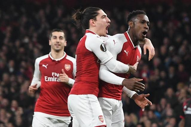 Arsenal to face CSKA Moscow in Europa League quarter-final after beating AC Milan