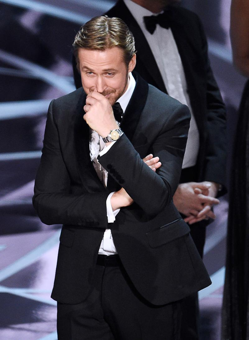 Ryan Gosling, Sensitive Soul, Was Just Glad No One Got Hurt at the Oscars