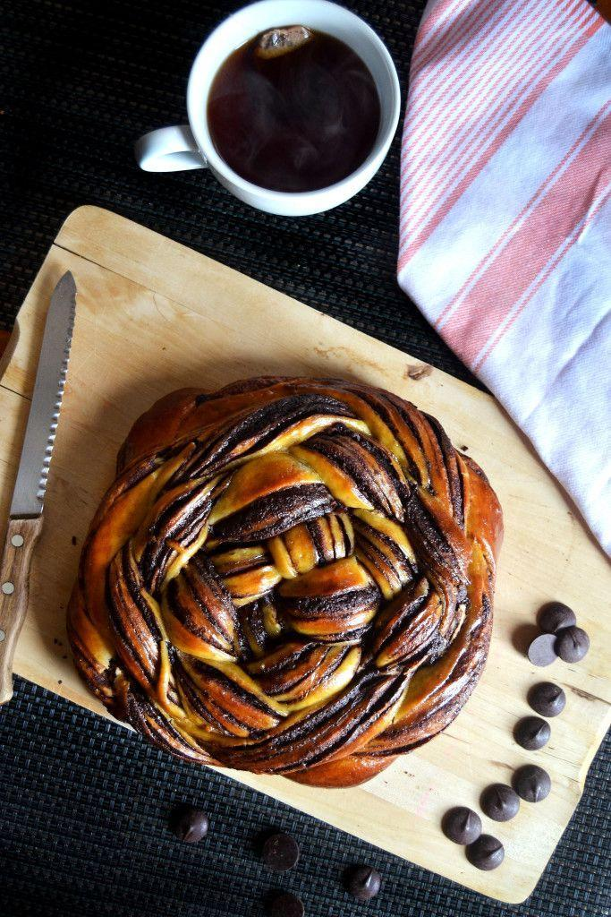 "<p>While challah is not typically considered dessert fare, this sweet version — almost like a babka — can't be beat at any time of day. Bittersweet chocolate and orange juice impart the flavor, and braiding the dough results in a gorgeous, swirled presentation.</p><p><em><a href=""http://yinandyolk.com/2015/09/27/chocolate-orange-challah-bread/"" rel=""nofollow noopener"" target=""_blank"" data-ylk=""slk:Get the recipe for chocolate-orange challah"" class=""link rapid-noclick-resp"">Get the recipe for chocolate-orange challah</a></em></p>"
