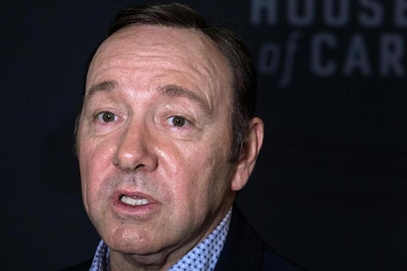 Kevin Spacey is being investigated by Scotland Yard (AFP/Getty Images)