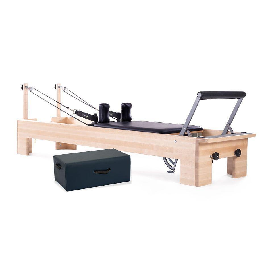 """<p>pilates.com</p><p><strong>$3750.00</strong></p><p><a href=""""https://www.pilates.com/store/pilates-equipment/reformers/pilates-studio-reformer/"""" rel=""""nofollow noopener"""" target=""""_blank"""" data-ylk=""""slk:Shop Now"""" class=""""link rapid-noclick-resp"""">Shop Now</a></p><p>If you're looking to bring the studio experience home, Clark recommends Balanced Body's Studio Reformer. It's <strong>longer than other models, making it ideal for taller people</strong>, and its maple frame actually looks <em>good</em>. As a bonus, you can customize nearly every aspect of the construction, including the footbar shape and the color of the upholstery.</p>"""