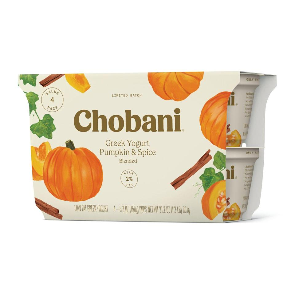 <p>For a healthier fall breakfast, you seriously need this pumpkin spice-flavored yogurt in your life. </p>