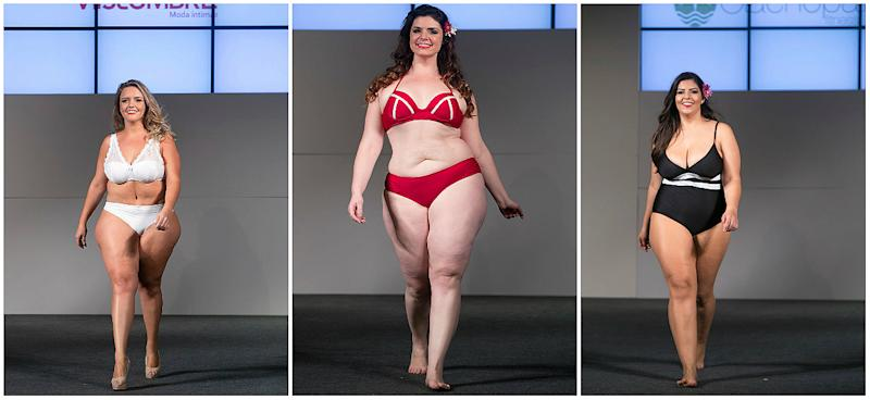 The 14th annual plus-size fashion weekend in Sao Paulo.