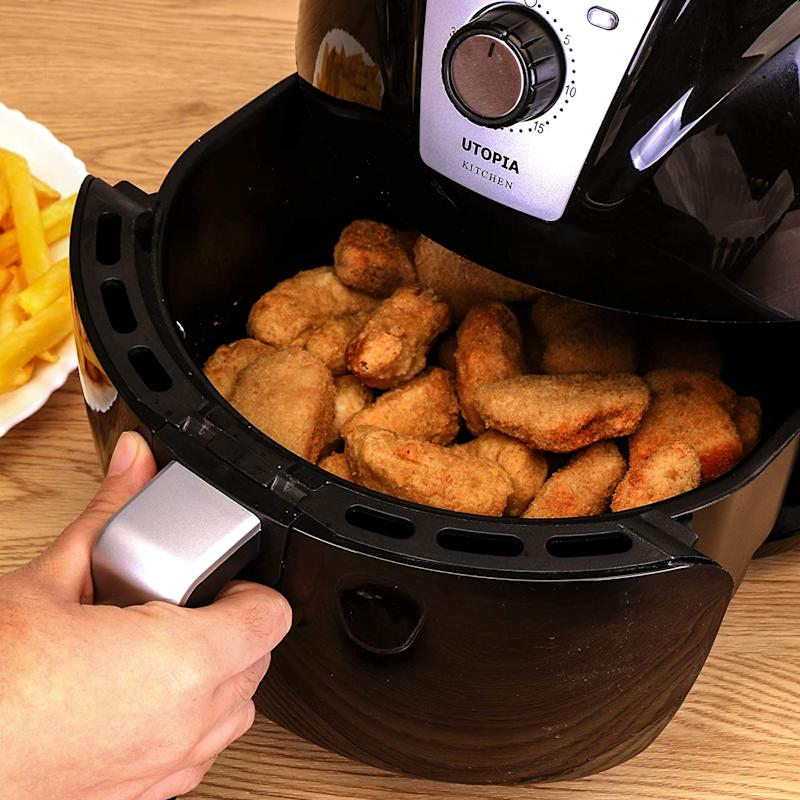 An air fryer, like this affordable one from Utopia, is just one Amazon must-have shoppers and YouTubers swear by.
