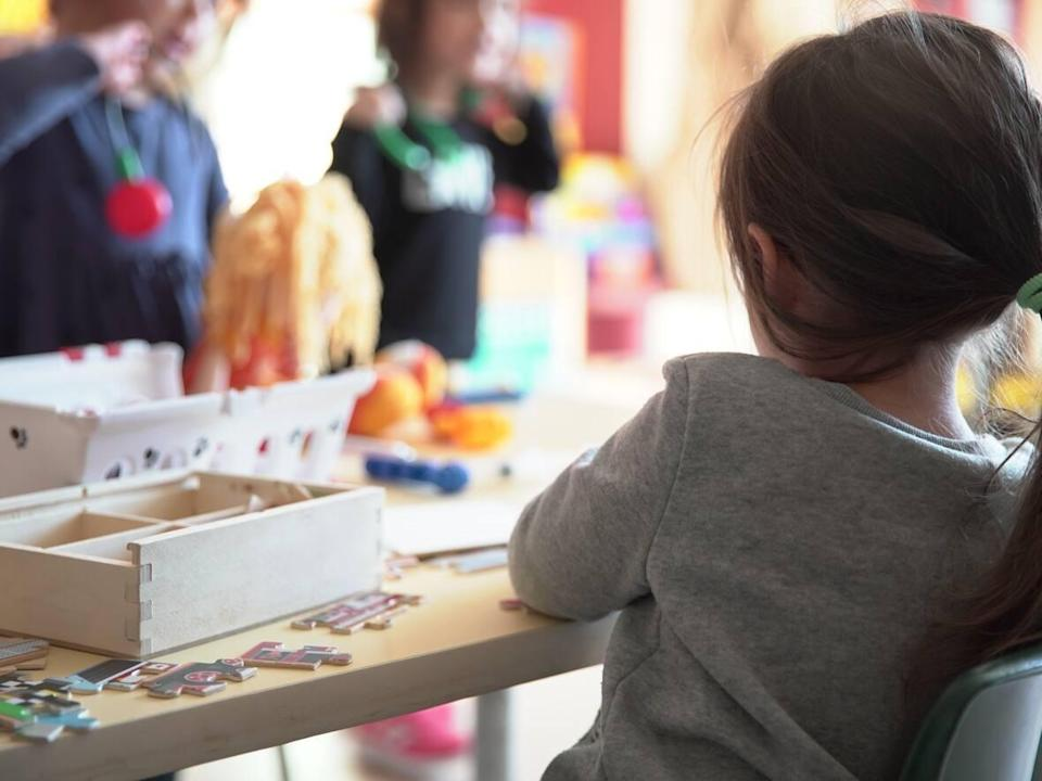 Public daycares in Montreal, Laval, Lanaudière, Montérégie and Estrie regions are kicking off the rotating strikes today.  (Charles Contant/CBC - image credit)